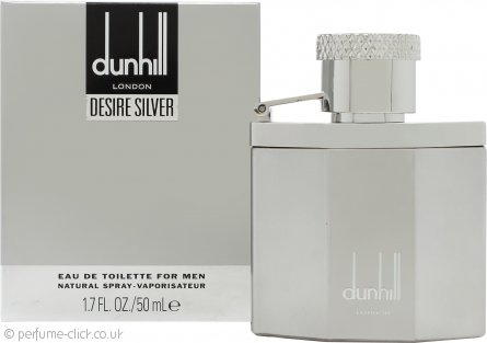 Dunhill Desire Silver Eau de Toilette 50ml Spray