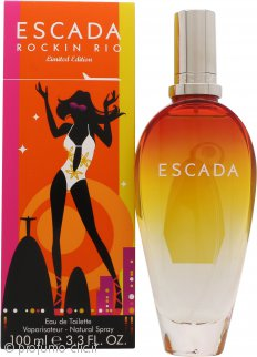 Escada Rockin' Rio Eau de Toilette 100ml Spray - Edizione Limitata