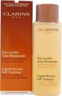 Clarins Liquid Bronze Self Tanning For Face 125ml