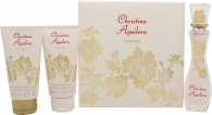 Christina Aguilera Woman Geschenkset 30ml EDP + 50ml Body Lotion + 50ml Douchegel