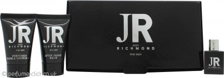 John Richmond John Richmond for Men Gift Set 4.5ml EDT + 25ml Shower Gel + 25ml A/S Balm