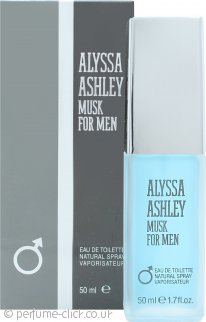 Alyssa Ashley Musk for Men Eau de Toilette 50ml Spray