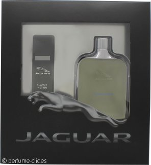 Jaguar Classic Motion Set de Regalo 100ml EDT + 15ml EDT Vaporizador de Viaje
