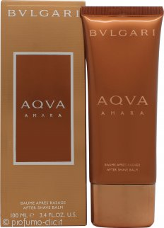 Bvlgari Aqva Amara Aftershave Balm 100ml Splash