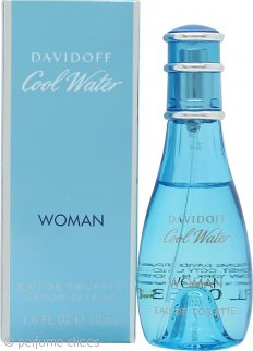 Davidoff Cool Water Woman Eau de Toilette 30ml Vaporizador