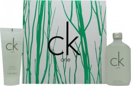 Calvin Klein CK One Gavesæt 100ml EDT + 100ml Body Wash