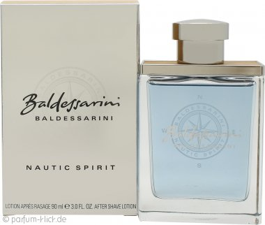 Baldessarini Nautic Spirit Aftershave Lotion 90ml Splash