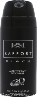 Dana Rapport Black Anti Perspirant Deodorant 150ml Spray
