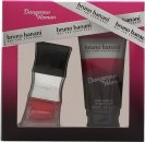 Bruno Banani Dangerous Woman Set de Regalo 20ml EDT + 50ml Gel de Ducha
