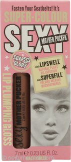 Soap & Glory Sexy Mother Pucker Lip Plumping Gloss 0.2oz (7ml) - Half Naked