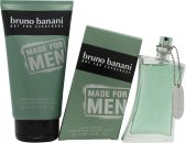 Bruno Banani Made for Men Gift Set 50ml EDT Spray + 150ml Shower Gel