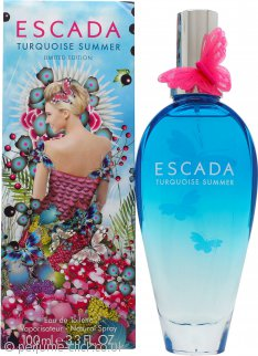 Escada Turquoise Summer Eau de Toilette 100ml Spray