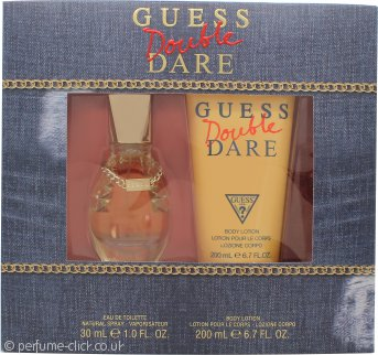 Guess Double Dare Gift Set 30ml EDT + 200ml Body Lotion