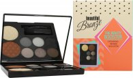 Sunkissed Beautiful Bronze Beauty Booster Gift Set 6 x 2g Eyeshadows + 4g Bronzer + 4g Highlighter + Applicator