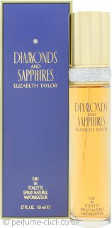 Elizabeth Taylor Diamonds & Sapphires Eau de Toilette 50ml Spray