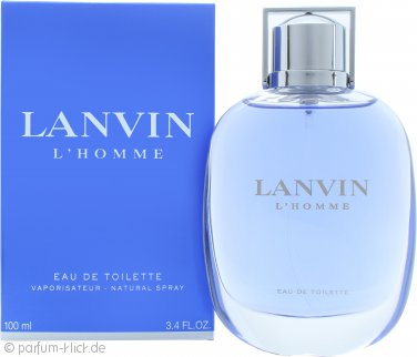 Lanvin L'Homme Eau De Toilette 100ml Spray
