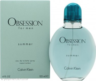 Calvin Klein Obsession for Men Summer Eau de Toilette 125ml Spray