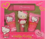 Hello Kitty Pink Love Gift Set 30ml Body Lotion + 30ml Shower Gel + 4.5g Lip Balm + Fruity Fragrance