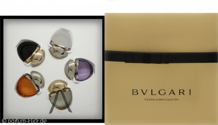 Bvlgari The Jewel Charm Collection Geschenkset 5 x 25ml (Omnia Amethyste EDT + Mon Jasmin Noir EDP + Indian Garnet EDT + Jasmin Noir EDP + Omnia Crystalline EDT)