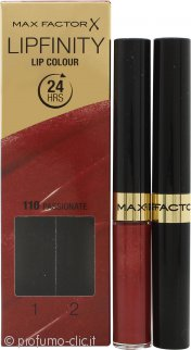Max Factor Lipfinity Lip Colour - 110 Passionate