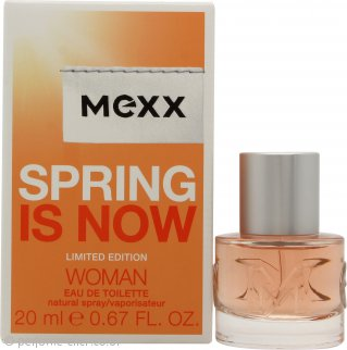 Mexx Spring is Now Woman Eau de Toilette 20ml Spray