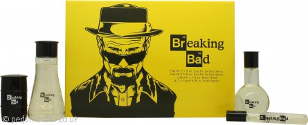 Breaking Bad Breaking Bad Gift Set 75ml EDT + 150ml Body Wash + 2 x 14g Bath Bomb + 15ml EDT