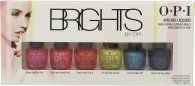 OPI Brights Gift Set 6 x 3.75ml Nail Lacquer