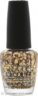 OPI Spotlight on Glitter Nail Lacquer 15ml Reached My Gold!