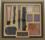 Sunkissed Moroccan Escape Exotic Gaze Gift Set 4 x 2.5g Eyeshadows + 6.5ml Mascara + 0.6g Eye Pencil + 8ml Primer + 8.5g Bronzer + 2 x Applicators