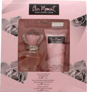 One Direction Our Moment Gift Set 30ml EDP + 10ml EDP Rollerball + 50ml Body Lotion