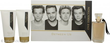 One Direction Between Us Gift Set 100ml EDP + 150ml Body Lotion + 150ml Shower Gel