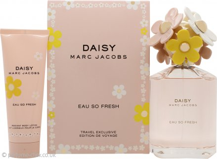 Marc Jacobs Daisy Eau So Fresh Gift Set 125ml EDT + 75ml Body Lotion
