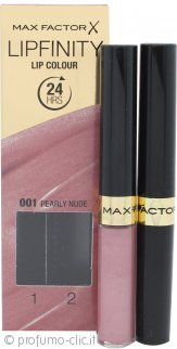 Max Factor Lipfinity Lip Colour - 001 Pearly Nude