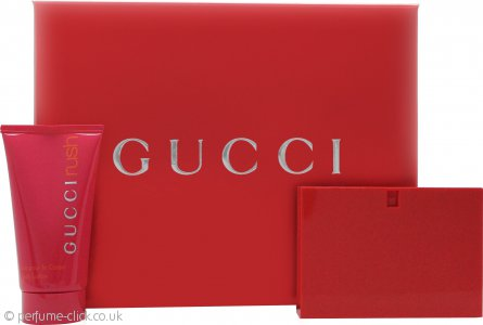 gucci rush gift set 30ml edt 50ml body lotion. Black Bedroom Furniture Sets. Home Design Ideas