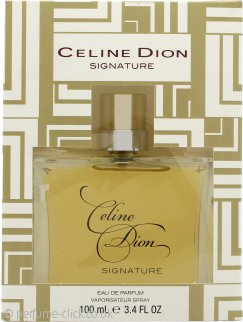 Celine Dion Signature Eau de Toilette 100ml Spray