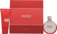 Hugo Boss Hugo Gift Set 1.7oz (50ml) EDP + 3.4oz (100ml) Body Lotion