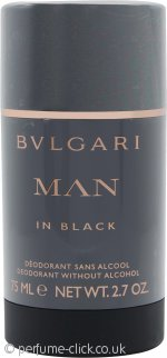 Bvlgari Man In Black Deodorant Stick 75ml