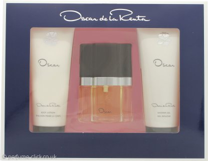 Oscar De La Renta Oscar Gift Set 30ml EDT + 100ml Shower Gel + 100ml Body Lotion