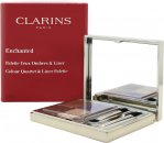 Clarins Enchanted Colour Quartet & Liner Palette 4.9g (5 x Eyeshadows + 2 x Applicators)