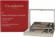 Clarins Ombre Minerale Eye Quartet Mineral Palette Long Lasting 5.8g - Odyssey 09