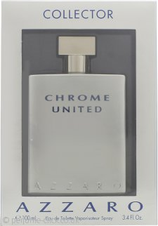 Azzaro Chrome United Eau de Toilette 100ml Spray - Collector Edition