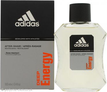 Adidas Deep Energy Aftershave 100ml Splash