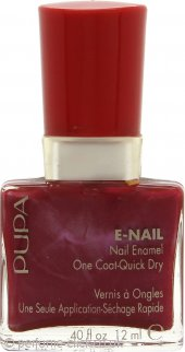 Pupa Nail Enamel One Coat Quick Dry Red 12ml