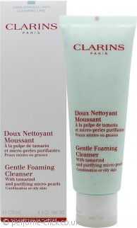 Clarins Cleansers and Toners Gentle Foaming Cleanser With Tamarin 125ml Combination/Oily Skin