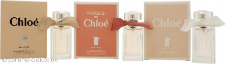 Chloé My Little Chloés Trio Fragrance Gift Set 20ml My Little EDP + 20ml My Little EDT + 20ml Roses de Chloé My Little EDT