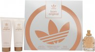 Adidas Born Original for Her Set de Regalo 50ml EDP + 75ml Loción Corporal + 75ml Gel de Ducha
