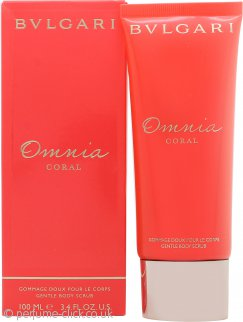 Bvlgari Omnia Coral Gentle Body Scrub 100ml