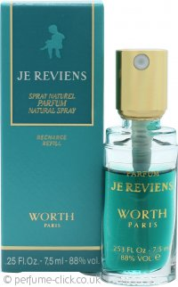 Worth Je Reviens Eau de Parfum 7.5ml Refill Spray