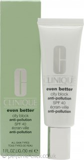Clinique Even Better City Block Anti-Pollution Cream 30ml SPF40 All Skin Types
