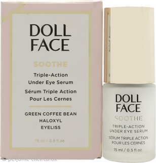 Doll Face Soothe Under Eye Puffiness Triple Action Serum 15ml